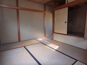 千葉県鴨川市内浦の古家付売地 海近で釣りの拠点や賃貸など 南総ユニオン株式会社 2階は陽当りが良い