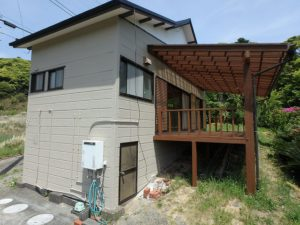 千葉県鴨川市の売別荘 南房総の中古住宅 南総ユニオン株式会社 周辺民家が少ない環境です