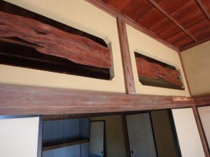 千葉県館山市の中古住宅 南房総の古民家 南総ユニオン株式会社 年代ものです一枚板欄間