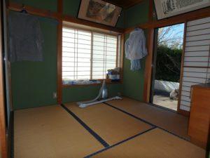 館山市の中古住宅 南房総の別荘 南総ユニオン株式会社 和室は4帖半です