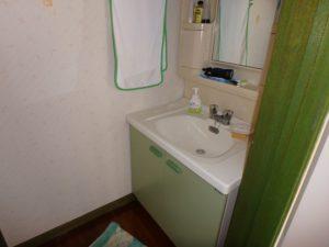 館山市の中古住宅 南房総の別荘 南総ユニオン株式会社 1階の洗面台です
