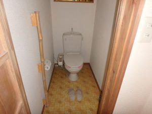 千葉県南房総市富浦町青木の物件 南房総の古民家 南総ユニオン株式会社 トイレは水洗です