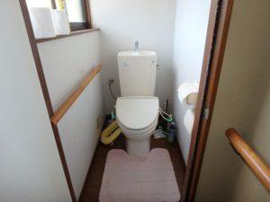 千葉県南房総市千代の中古住宅 南房総の田舎暮らし 南総ユニオン株式会社 トイレは2か所