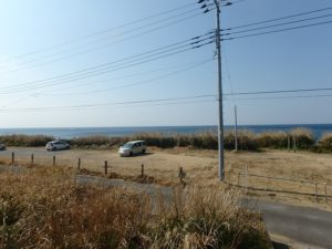 千葉県館山市布良の売地 館山の海物件 南総ユニオン株式会社 空気が澄んだ日は富士山も