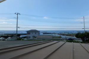 千葉県館山市西川名の中古住宅 館山市海が見える物件 南総ユニオン株式会社 2階からの景色イイ感じです