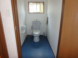 千葉県勝浦市上植野の中古住宅 勝浦市の売別荘 南総ユニオン株式会社 トイレは2ヶ所設置