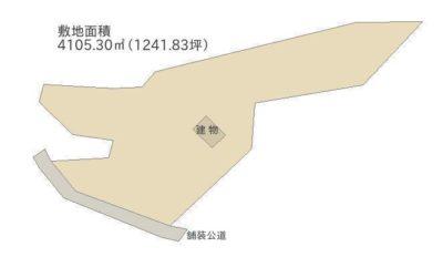 露天温泉付売家 南房総市富浦町福沢 3SDK 5465万円 物件概略図