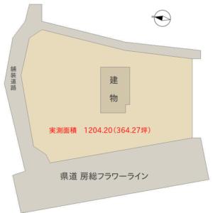 海前売古民家 館山市西川名 5DK+土間倉庫 5380万円 物件概略図