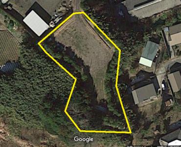 売 山 林 南房総市加茂 2311㎡(699.07坪) 850万円 物件概略図