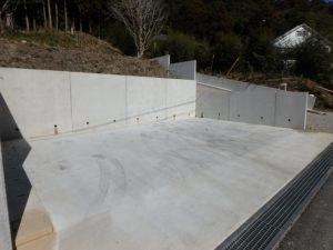 千葉県鴨川市二子の売地 海遠望の売地 南総ユニオン株式会社 駐車場も造成してある