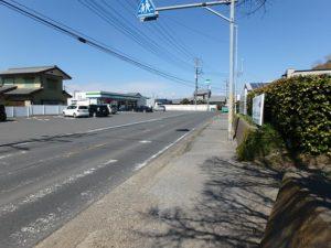 千葉県富津市湊の売地 南房総の海が見える土地 南総ユニオン株式会社 国道の様子です