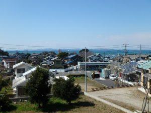 千葉県富津市湊の売地 南房総の海が見える土地 南総ユニオン株式会社 東京湾と富士山の望みます