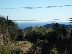 千葉県鴨川市二子の売地 海遠望の売地 南総ユニオン株式会社 太海の海を遠望します