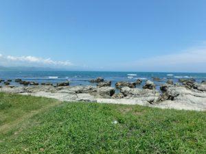 南房総市千倉町白子の売地 南房総海近の物件 南総ユニオン株式会社 プライベート感ある海岸です