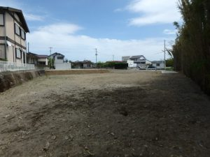 千葉県館山市の売地 館山市の広い土地 南総ユニオン株式会社 広い土地なので庭造りも可能