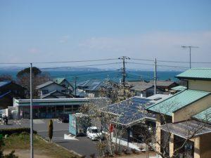 千葉県富津市湊の売地 南房総の海が見える土地 南総ユニオン株式会社 対岸は横須賀久里浜です