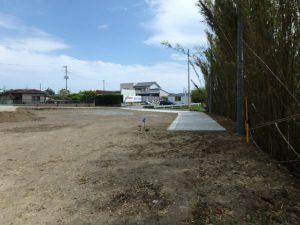 千葉県館山市の売地 館山市の広い土地 南総ユニオン株式会社 一番奥の区画です