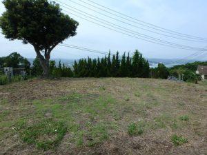 千葉県鴨川市貝渚の売地 海が見える土地 南総ユニオン株式会社 開放感ある土地ですよ