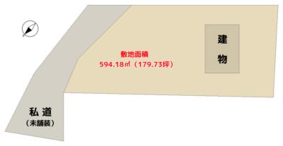 海望売別荘 館山市加賀名 2SLDK 2870万円 物件概略図