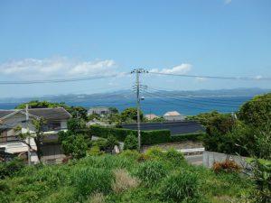 館山市坂田の売地 南房総海の見える土地 南総ユニオン株式会社 館山湾一望です