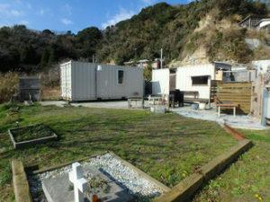 海山の自然に囲まれた高台の更地を購入