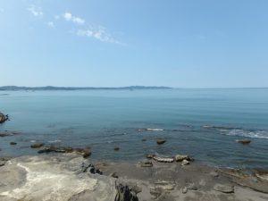 千葉県館山市船形の売地 海隣接のオーシャンビュー海一望で別荘や保養所など 海が見える広大な土地 南総ユニオン株式会社 きれいな海です