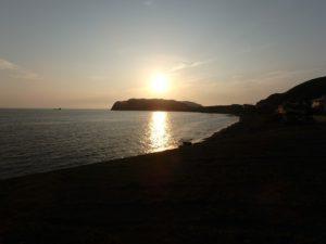 千葉県館山市船形の売地 海隣接のオーシャンビュー海一望で別荘や保養所など 海が見える広大な土地 南総ユニオン株式会社 夕陽もキレイだな