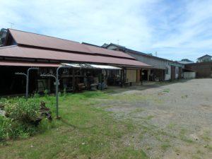 千葉県袖ケ浦市三箇の不動産 袖ヶ浦の古民家 房総の物件情報 南総ユニオン株式会社 倉庫作業場と工場です