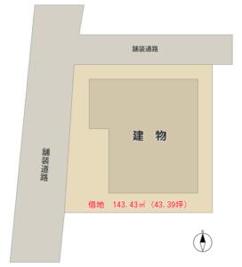 海 浜 売 家 南房総市千倉町北朝夷 6SDK 380万円 物件概略図