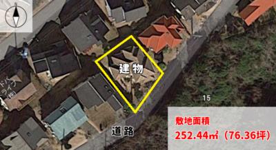 売 別 荘 勝浦市興津久保山台 3LDK 2980万円 物件概略図