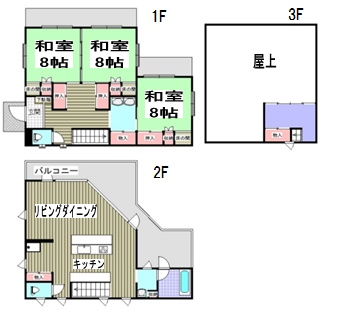 千葉県鴨川市貝渚の売り物件 間取り図 南総ユニオン株式会社