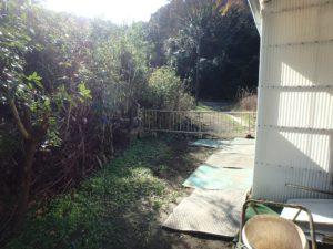 千葉県富津市萩生の売家 富津の中古住宅 海近の家 南総ユニオン株式会社 東側のスペースです