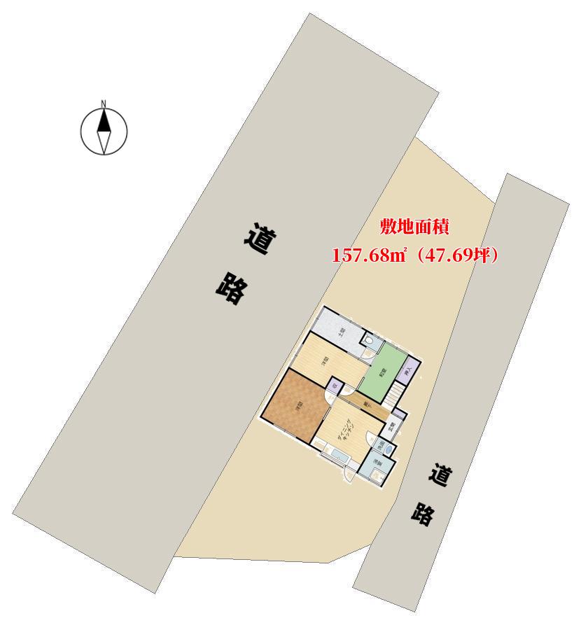 千葉県南房総市富浦町原岡の中古戸建 内房の不動産