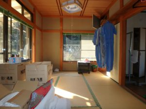 千葉県富津市萩生の売家 富津の中古住宅 海近の家 南総ユニオン株式会社 南東側の部屋です