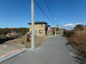 千葉県館山市佐野の土地 別荘用地 南房総の土地 道路は私道となります