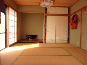 千葉県館山市布沼の中古住宅 南房総の別荘 戸建て 和室があると落ち着きます