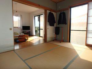 千葉県館山市布沼の中古住宅 南房総の別荘 戸建て 一日中陽が当たります