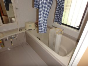 千葉県館山市布沼の中古住宅 南房総の別荘 戸建て 浴室となります