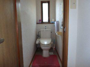 千葉県館山市布沼の中古住宅 南房総の別荘 戸建て 1階のトイレ
