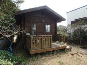 千葉県館山市布沼の中古住宅 南房総の別荘 戸建て 作業小屋かな