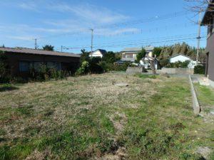 千葉県南房総市本織の土地 南房総の不動産 田舎暮らし用地 114坪の敷地は余裕がある