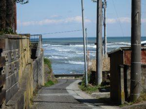 千葉県いすみ市岩船の海が見える売地 広い敷地 房総の別荘用地 週末は釣り師が多い