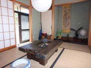 千葉県南房総市千倉町川戸の土地、上物付き 山の中にポツンと一軒家 ここで客人をおもてなす
