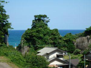 千葉県いすみ市岩船の海が見える売地 広い敷地 房総の別荘用地 風光明媚で美しい眺望