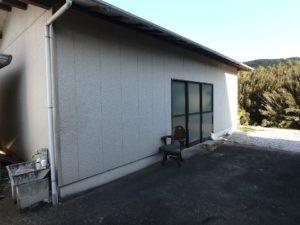 千葉県南房総市上滝田の中古住宅 南房総の不動産 お店付物件 大きめな納屋もあります