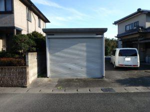千葉県南房総市上滝田の中古住宅 南房総の不動産 お店付物件 ガレージもありますね