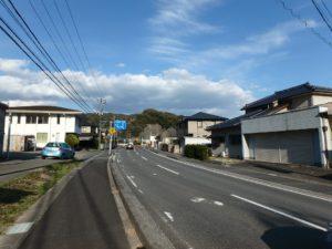 千葉県南房総市上滝田の中古住宅 南房総の不動産 お店付物件 道路付良好です