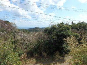 千葉県南房総市千倉町川戸の土地、上物付き 山の中にポツンと一軒家 山の上なので眺望は良好