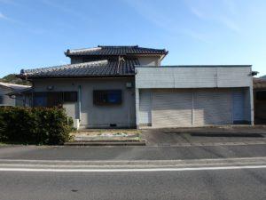 千葉県南房総市上滝田の中古住宅 南房総の不動産 お店付物件 状態良好物件ですね