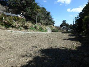 千葉県いすみ市岩船の海が見える売地 広い敷地 房総の別荘用地 緑があるのも加点です
